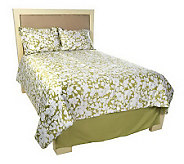 Home Reflections Floral 4-pc. KG Reversible Comforter Set - H193782