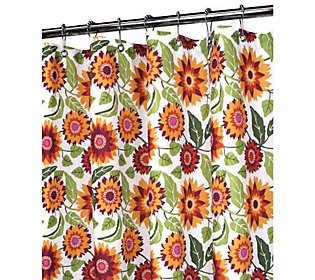 Watershed 2-in-1 Botanical Garden 72x72 ShowerCurtain