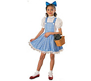 The Wizard of Oz Dorothy Deluxe Child Costume - H143989