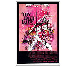 27 x 40 My Fair Lady Movie Poster - 1964