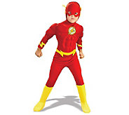 DC Comics The Flash Muscle Chest Deluxe Child Cstume - H144493