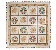 Country Living Harvest Celebrate the Seasons Quilted Throw - H171195
