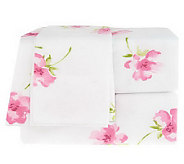 Northern Nights Alexa Floral King Flannel Sheet Set - H196395