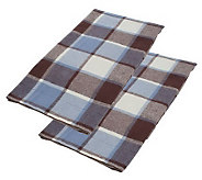 Northern Nights Kellan Plaid 100Cotton KG Flannel Shams - H167996