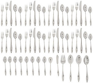 Lenox 18/10 Stainless Steel 54-Piece Service for 8 Flatware Set — QVC.