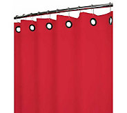 Watershed 2-in-1 Dorset Solid Grommet 72x72 Shower Curtain - H356896