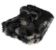 Dennis Basso Fox Collection Faux Fur 50x60 Throw - H194297