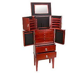 Gold & Silver Safekeeper Anti-Tarnish Jewelry Armoire by ...