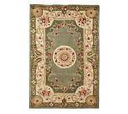 Royal Palace Emperors Rose 56 x 86 Handmade Wool Rug - H167898
