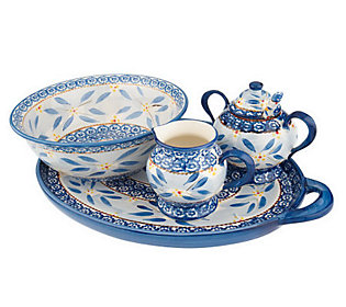 Temp-tations Old World 5-piece Dinnerware Completer Set