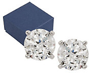 Epiphany Diamonique 100-Facet 1.00 ct tw Stud Earrings - J268100