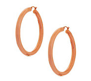 Bronzo Italia 2 Bold Round Hoop Earrings - J271807