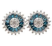 Diamond Earrings As Is Affinity Diamond 12 Ct Tw Stud