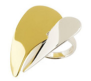 RLM Studio Sterling & Brass Clean Heart Ring - J261615