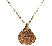Wildlife by Heidi Klum Pave Shell Enhancer with Chain - J267415