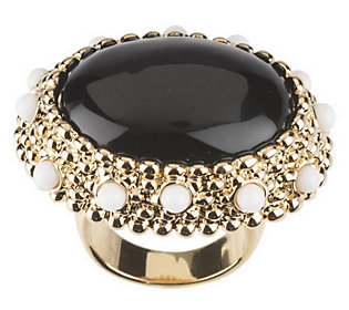 Kenneth Jay Lanes Bold Cabochon Ring