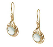 Adi Paz Round Fluorite Gemstone Dangle Earrings, 14K Gold - J274021