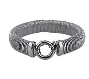As Is Arte dArgento Sterling Giravolta Bracelet, Avg. - J271322