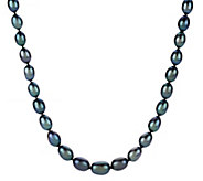 Honora Cultured Pearl 18 5.5mm - 8.0mm Oval Graduated Necklace - J267725