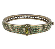 La Vintage Shades of Green Fantasia Bangle - J30125