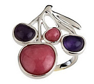 Andy Warhol By RLM Studio Sterling & Gemstone Fruit Ring - J260226