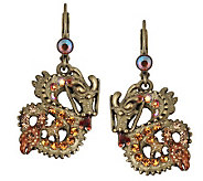 Kirks Folly Dragon Rider Lever Back Earrings - J306327