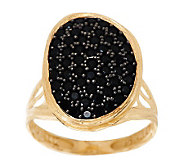 Adi Paz 1.00 ct tw Black Spinel Freeform Design Ring, 14K Gold - J277432