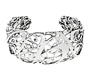 Carolyn Pollack Sterling Signature Limited-Edition Cuff