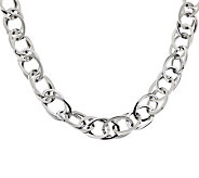 Steel by Design 18 Loose Rope Necklace - J279133