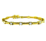Estate Jewelry 1.75 ct tw Diamond Bracelet, 14K - J312136