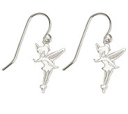 Disney Sterling Tinker Bell Dangle Earrings - J303437