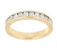 AffinityDiamond 1/2 ct tw Channel Set Band Ring, 14K Gold - J280738