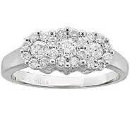 Affinity Diamond 3/4 ct tw Fantasy Flower Ring,14K - J305741