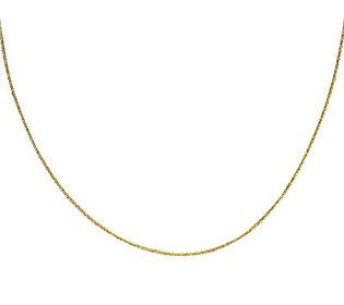 eternagold 22quot  singapore chain