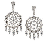 Judith Ripka Sunlace 2.1ct Diamonique Sterling Earrings - J265043
