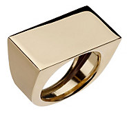 EternaGold Bold Polished Geometric Ring 14K Gold - J156648