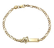 Dora the Explorer 14K Gold-Plated Sterling ID Bracelet - J303449
