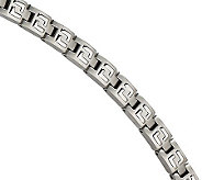 Forza 8-1/4 Brushed with Polished InlayBracelet - J304549