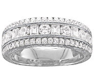 Epiphany Diamonique 4.80 ct tw Band Ring - J305953