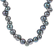 Honora Cultured FreshwaterPearl 7.0mm Ringed Bubble Pattern Necklace - J268762