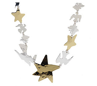 Andy Warhol By RLM Studio Sterling & Brass Celestial Necklace