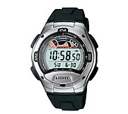 Casio Mens Casual Black Sports Watch - J103477