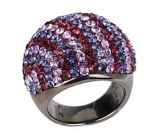 Kenneth Jay Lanes Bands of Color Dome Ring