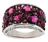 8.00 ct tw Brazilian Rose Blush Garnet Sterling Ring - J275778