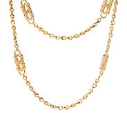 Jacqueline Kennedy Goldtone Paperclip Necklace - J149780