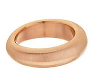 Oro Nuovo Large Brushed Satin Organic Bangle, 14K - J272684