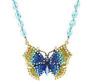 Kirks Folly Mariposa Butterfly Necklace - J274885
