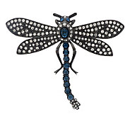 Joan Rivers Estate Style Pave Dragonfly Pin - J273386