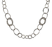Michael Dawkins Sterling Granulation Drop 36 Necklace - J263789