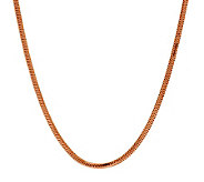 Bronzo Italia 36 Polished Snake Chain Necklace - J278989